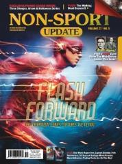 "#27 Vol. 5 ""Flash Forward - New Cryptzoic Series Captures the Action"""