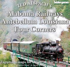 Alabama Railways, Antebellum Louisiana & Four Corners