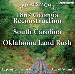 1867 Georgia Reconstruction, South Carolina & Oklahoma Land Rush