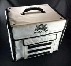 P.A.C.K. 720 Molle w/Pluck Foam Trays (Imperial White)