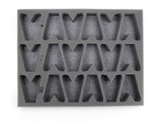 "1 1/2"" Army Tray - 18 Dark Eldar Scourges"