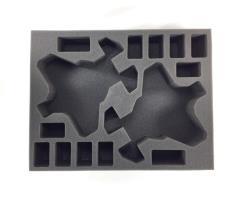 "3"" Army Tray - 2 Corvus Blackstar, 12 Assault Marine Foam Tray"