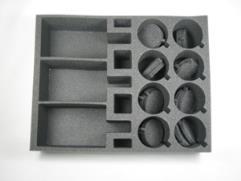 "4"" Army Tray - Basilisk, Heavy Weapons"