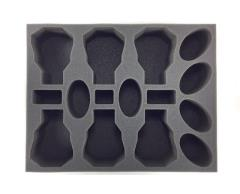 "3"" Army Tray - 6 Bike 6 Speeder Foam Tray"