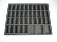 "1 1/2"" Warriors of Chaos Troop Tray"