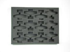 "1 1/2"" Flames of War 12 Airplane Foam Tray"
