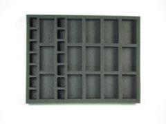 "1 1/2"" Flames of War 15 Artillery & 14 Support Foam Tray"