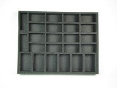 "1 1/2"" Flames of War Artillery & Tank Foam Tray"