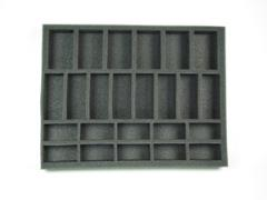 "1 1/2"" Flames of War Artillery, Medium & Small Tank Foam Tray"