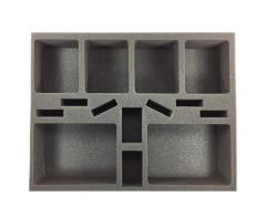 "2 1/2"" Army Tray - Generic Medium and Large Ship Foam Tray (BFL-2.5)"