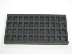 "1"" Flames of War 44 HQ Foam Tray"