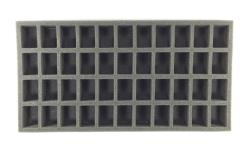 "1 1/2"" Games Workshop Troop Tray - Imperial Guard, Half Tray"