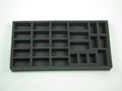 "1 1/2"" British Armored Squadron w/Stuart Option Foam Tray"