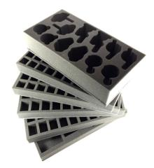 Ninja All-Stars Horizontal Foam Kit for P.A.C.K 432