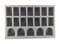 "2 1/2"" Army Tray - 5 Terminators & 14 Troops"