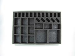 "1"" Dystopian Wars - Armored Battle Group Foam Tray"