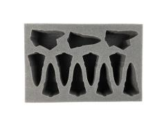 "2"" Eldar Specialty Troop Foam Tray"