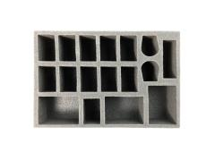 "2"" Tau Specialty Troop Foam Tray"