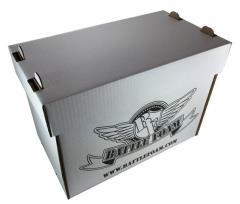 Stacker Box - Medium (Empty) (Blizzard White)
