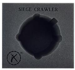 Mercenaries Siege Crawler Battle Engine Foam Tray