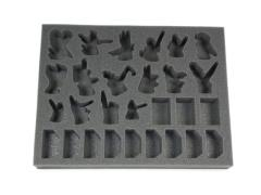 "1 1/2"" Army Tray - Eldar Characters"