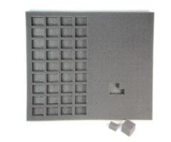 "1"" Hybrid Pluck Foam Tray - Standard Troop"