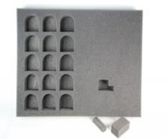 "2"" Hybrid Pluck Foam Tray - Terminator"