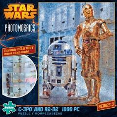 Photomosaics - C-3PO and R2-D2