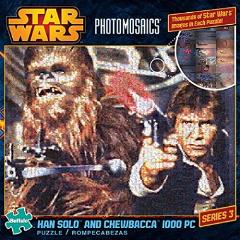 Photomosaics - Han Solo & Chewbacca