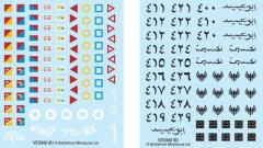 Arab and Jordanian Decals