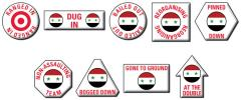 United Arab Republic Token Set