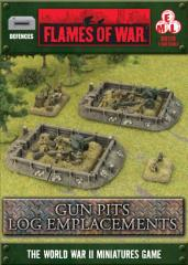 Gun Pits - Log Emplacement