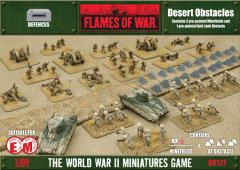 Desert Obstacles - Minefields & Anti-Tank Obstacle