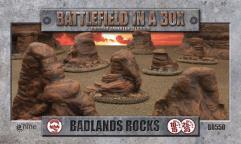 Badland Rocks