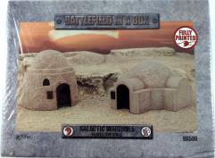 Galactic Warxones - Desert Buildings