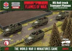 M5 Half-Track Transport Platoon
