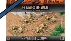 25 pdr. Field Troop