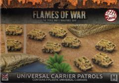 Universal Carrier Patrols