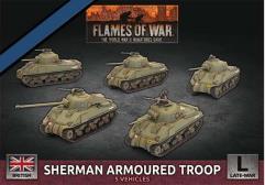 Sherman Armoured Troop