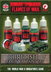 British Early War Paint Set