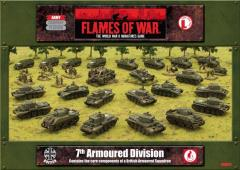 7th Armoured Divison - Normandy, Army Set