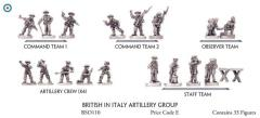 British In Italy - Artillery Group
