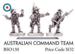 Australian Command Team