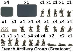 French Artillery Group w/Greatcoats