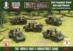 Blitzkrieg - Self Propelled 47mm Anti-Tank Platoon