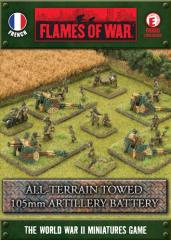 All Terrain Towed 105mm Artillery Battery
