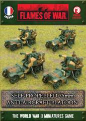 Self Propelled 75mm Anti Aircraft Platoon