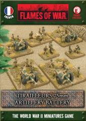 Tirailleurs 75mm Artillery Battery