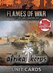 Afrika Korps - Mid-War Unit Cards (Limited Edition)