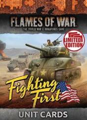Fighting First -Mid-War Unit Cards (Limited Edition)